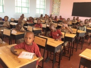 Students in classroom, March 2018